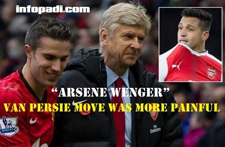 Arsene Wenger- Sanchez exit would be less painful; Van Persie's exit was terrible