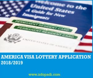 American Visa Lottery Application