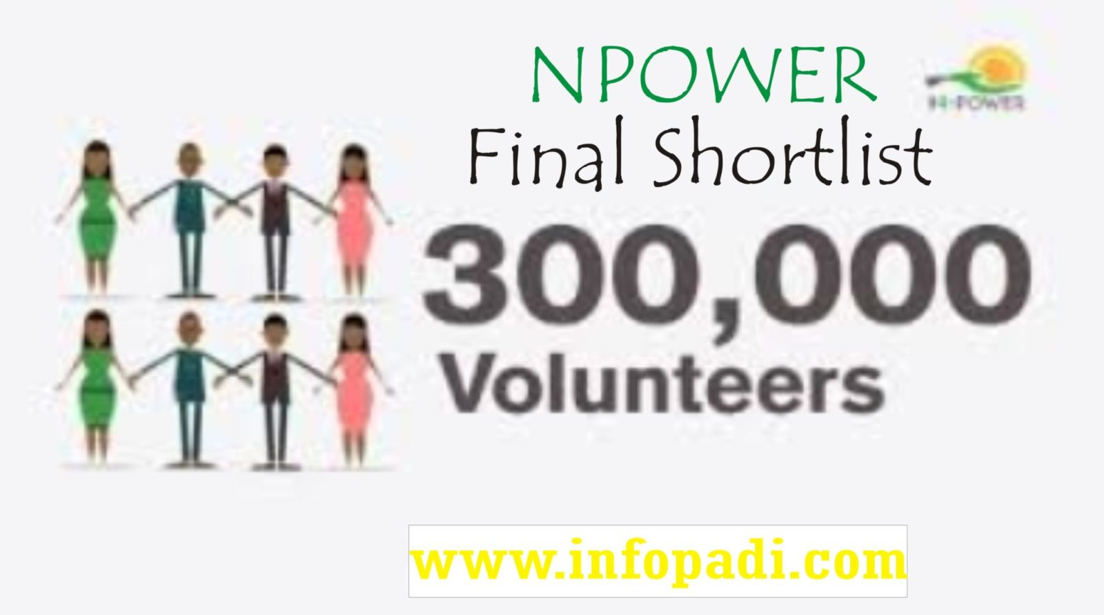 Npower 2017 beneficiaries update