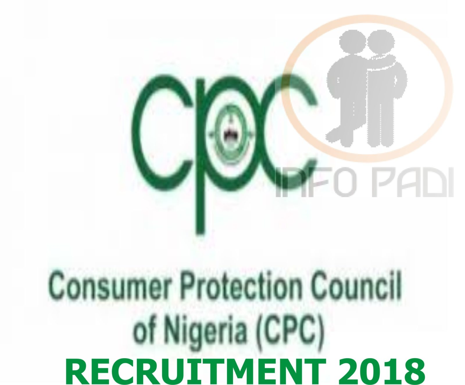 Consumer Protection Council (CPC) Recruitment 2018/2019 Form –www.cpc.gov.ng