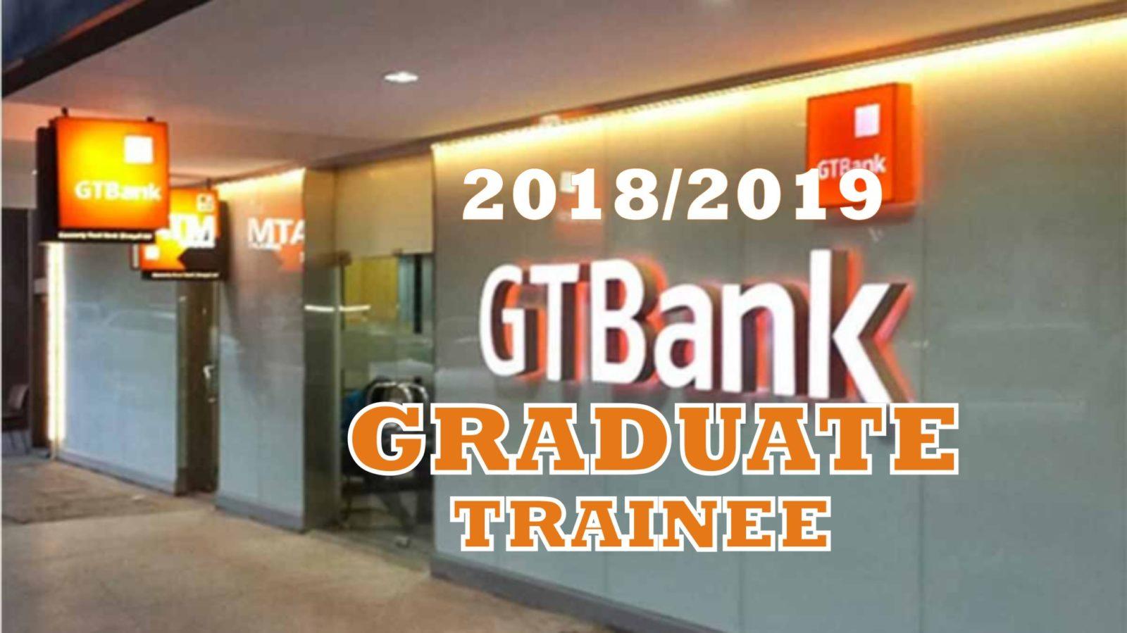 GTB graduate trainee