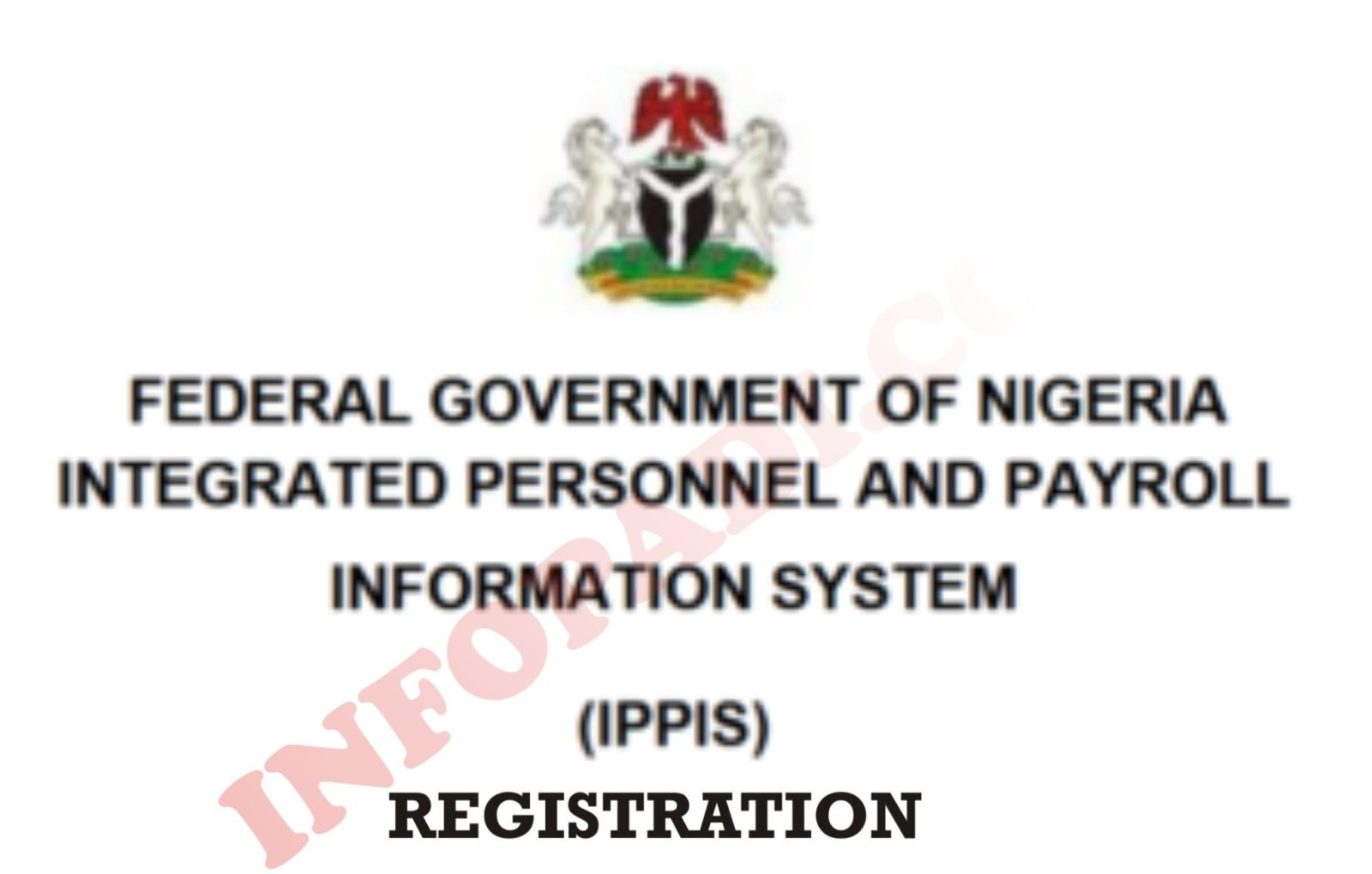 IPPIS Verification 2019 for government workers- Registration and Login portal here