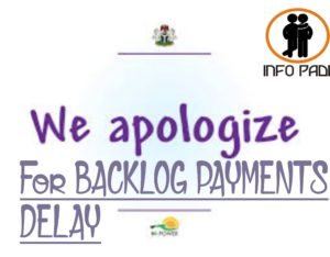 LATEST UPDATE ON N-POWER BACKLOG PAYMENT- 2016, 2017 and 2018 Npower Beneficiaries- Date for Payment