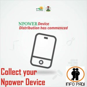 Npower Device Collection 2018 Latest Update- How to collect your Npower device