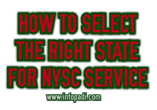 NYSC Batch A, Batch B and Batch C- How to select the best state for NYSC- nysc.gov.ng