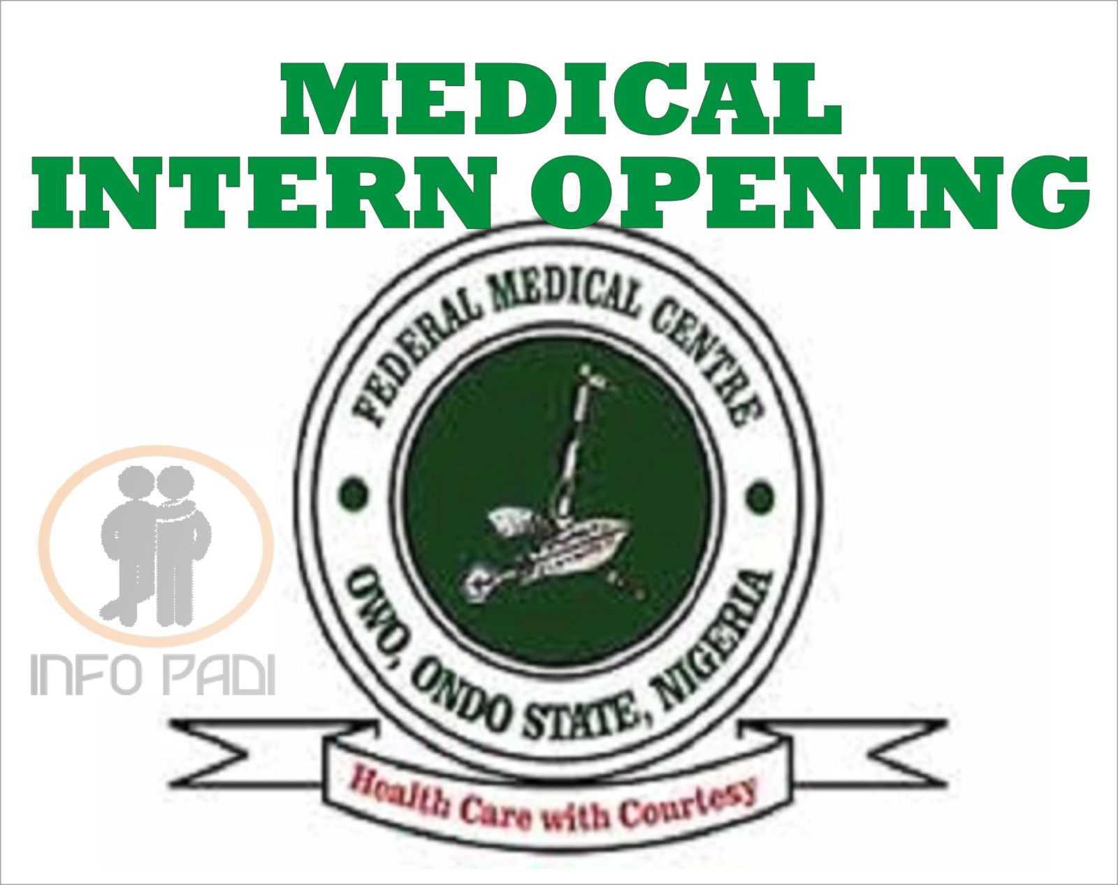 MED INTERNSHIP IN NIGERIA- Federal Medical Center Owo, Ondo State Intern Opening- Apply for your medical internship 2018