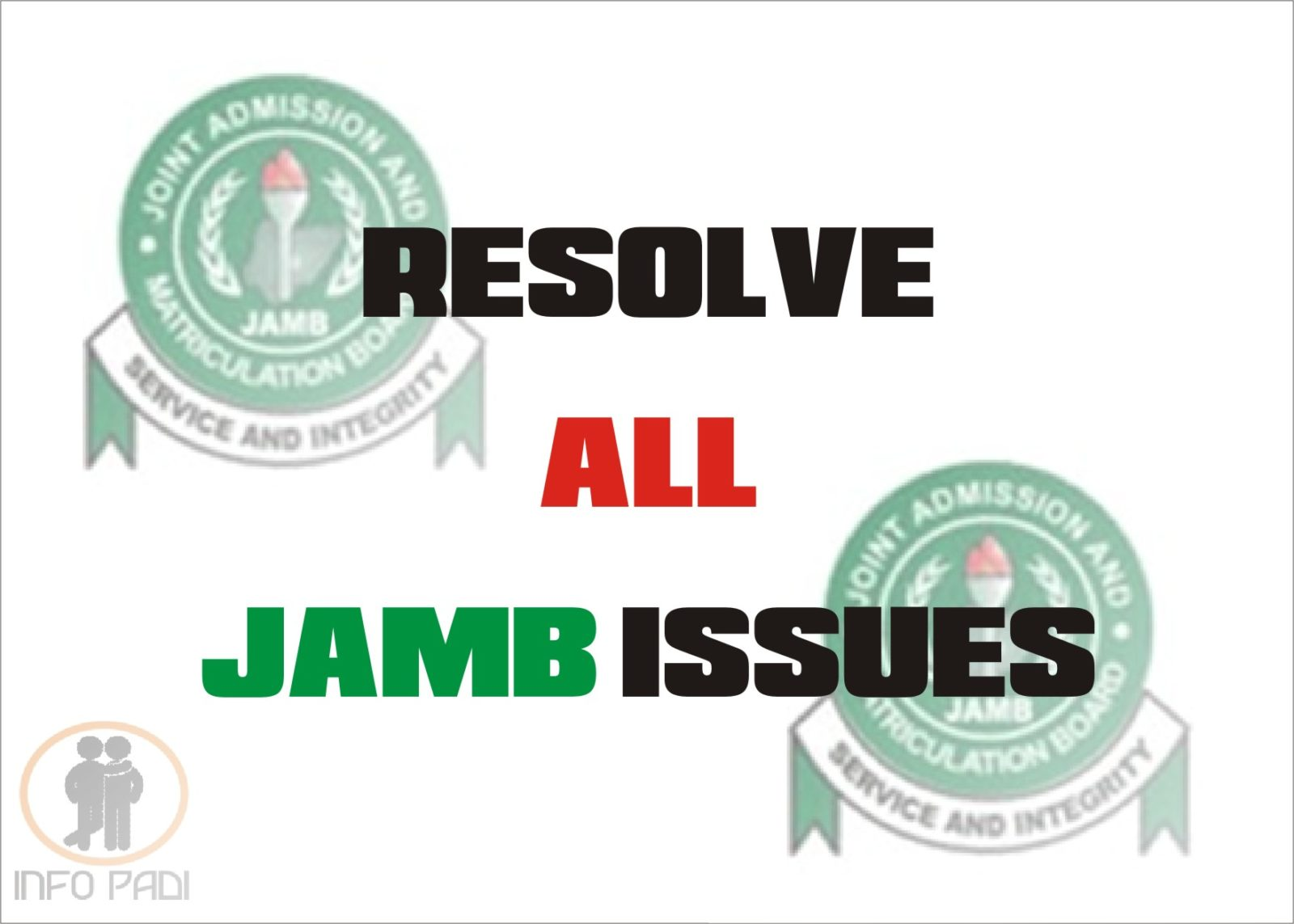 RESOLVE ALL ISSUES WITH JAMB 2019 REPRINTING OF SLIP- EMAIL ISSUES AND SOLUTIONS