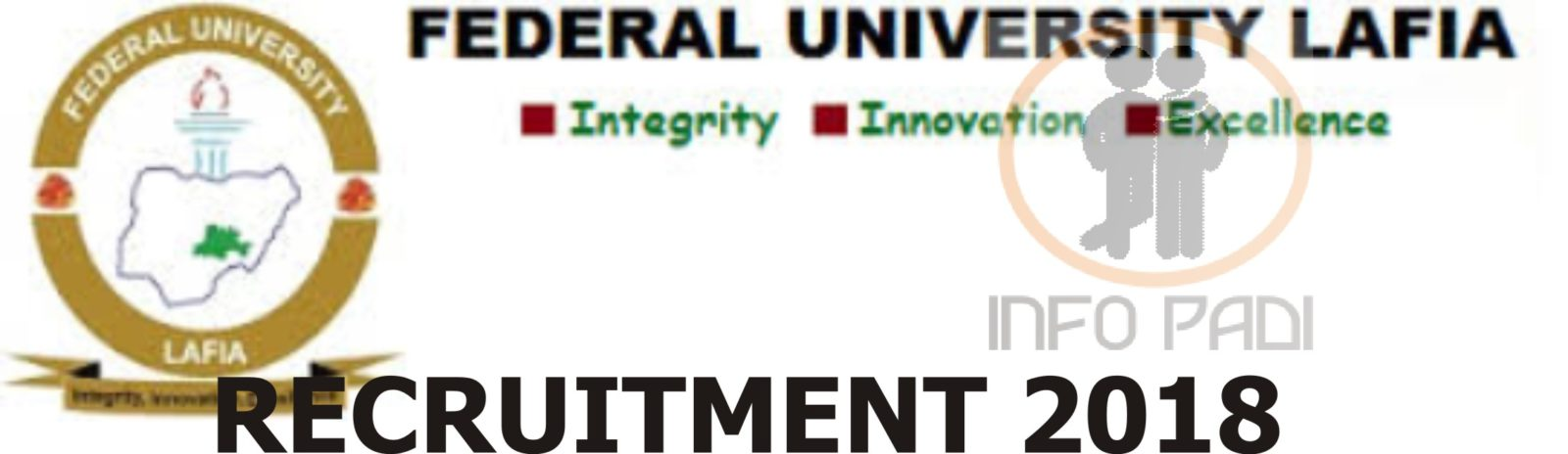 UNIVERSITY RECRUITMENT- Federal University Lafia 2018/2019 Recruitment for Graduates