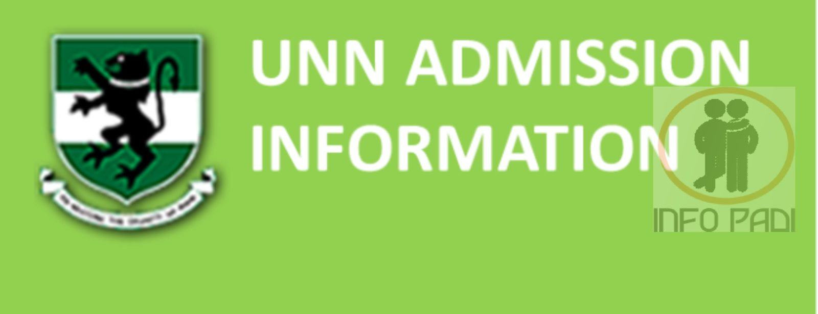University of Nigeria (UNN) Post UTME 2018/2019 Admission Screening form