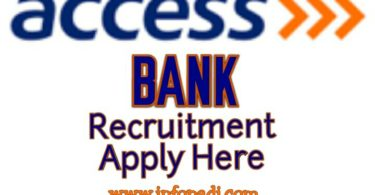 Access Bank Recruitment 2018- Frontline Absorption- Full application details and guidelines- Apply Here
