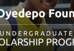2018 David Oyedepo Foundation Scholarship Program for Undergraduates- Apply Here
