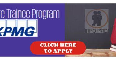 KPMG graduate trainee