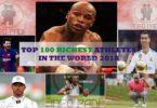 Forbes List World Top 100 Highest-Paid Athletes 2019- Top 100 richest sports men/women