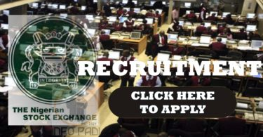 Nigeria Stock Exhange Recruitment