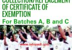 Nysc exemption certificate