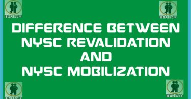 NYSC Revalidation and NYSC Remobilization- Difference and the right way to do it