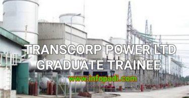 Transcorp Power Limited Graduate Trainee Program 2018   Application guide