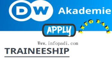 International Journalism Graduate Trainee Opportunity at Deutsche Welle- Apply