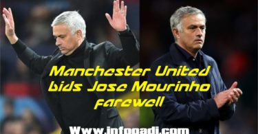 Bye Mourinho- See full reason he was sacked and who will replace him at Man Utd