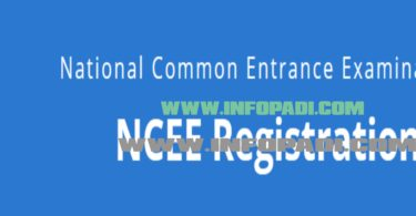 National Common Entrance Exam (NCEE)