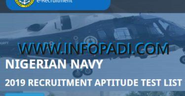 Nigerian Navy Candidates