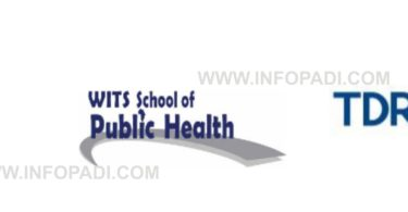 University of the Witwatersrand School of Public Health and TDR Post Graduate Scholarship 2019/2020- Apply Here