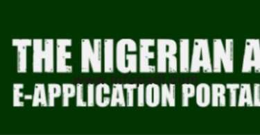 Nigerian Army Recruitment Portal