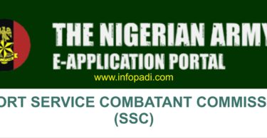 nigeria army ssc