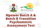 npower transition psychometric assessment test